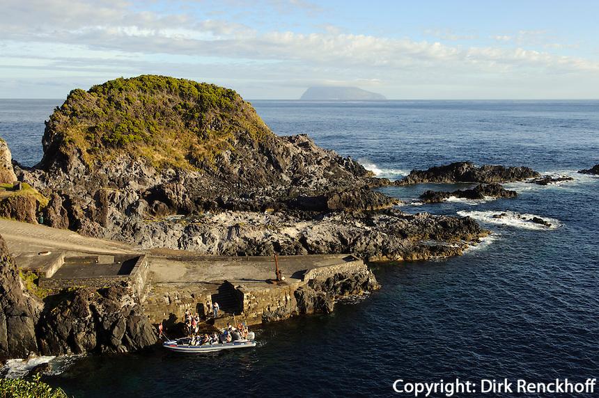 auf der Insel Flores, Azoren, Portugal