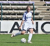 VV Rassing Harelbeke : Sharon Vervaeke.Foto DAVID CATRY / Vrouwenteam.be