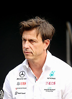 10th September, September 2021; Nationale di Monza, Monza, Italy; FIA Formula 1 Grand Prix of Italy, Free practise and qualifying for sprint race: Toto Wolff AUT, Mercedes-AMG Petronas F1 Team
