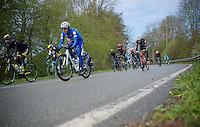 Daniel Martin (IRL/Etixx-Quickstep) cruising down the peloton<br /> <br /> 102nd Liège-Bastogne-Liège 2016