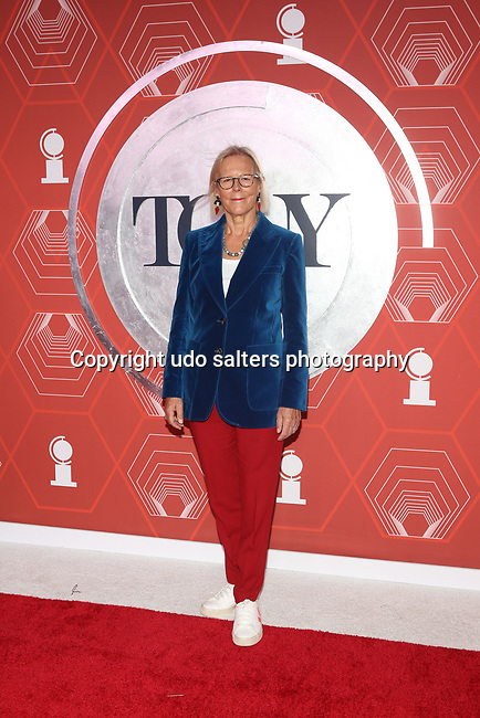 Phyllida Lloyd attends the 74th Tony Awards-Broadway's Back! arrivals at the Winter Garden Theatre in New York, NY, on September 26, 2021. (Photo by Udo Salters/Sipa USA)