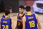 League ACB-ENDESA 2020/2021.Game 15.<br /> FC Barcelona vs Club Joventut Badalona: 88-74.