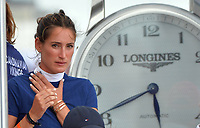 MIAMI BEACH, FL - APRIL 05: Bruce Springsteen's daughter Jessica Rae Springsteen attends the Longines Global Champions Tour stop in Miami Beach on April 5, 2018 in Miami Beach, Florida.<br /> <br /> People:  Jessica Rae Springsteen