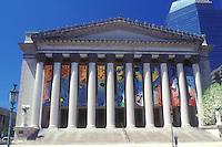AJ1380, Massachusetts, Springfield, Symphony Hall in Springfield, Massachusetts.