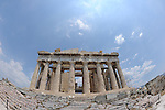 The Parthenon in the Acropolis, Athens, Greece.