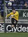 17/02/2008    Copyright Pic: James Stewart.File Name : sct_jspa22_falkirk_v_st_mirren.ST MIRREN KEEPER MARK HOWARD DURING THE GAME AGAINST FALKIRK.James Stewart Photo Agency 19 Carronlea Drive, Falkirk. FK2 8DN      Vat Reg No. 607 6932 25.Studio      : +44 (0)1324 611191 .Mobile      : +44 (0)7721 416997.E-mail  :  jim@jspa.co.uk.If you require further information then contact Jim Stewart on any of the numbers above........