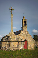 France, Bretagne, (29), Finistère, Cap Sizun, Plogoff: La chapelle Saint-Yves//  France, Brittany, Car Sizun, Plogoff