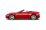 Car Driver side profile view of a 2015 Ferrari California T 2 Door Convertible Side View