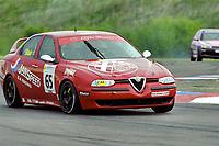 2001 British Touring Car Championship #65 Colin Blair. Alfa Romeo 156. GA Janspeed.