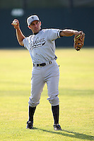 July 9th 2007:  Chris Carrara of the Staten Island Yankees, Class-A affiliate of the New York Yankees, at Dwyer Stadium in Batavia, NY.  Photo by:  Mike Janes/Four Seam Images