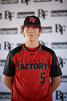 Adie Goodman (5) of Lamar School in Meridian, Mississippi during the Baseball Factory All-America Pre-Season Tournament, powered by Under Armour, on January 12, 2018 at Sloan Park Complex in Mesa, Arizona.  (Zachary Lucy/Four Seam Images)