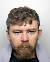 "Pictured: Police custody handout of Trevor Vinson<br /> Re: A 38-year-old man has been handed a 15-year sentence for sexually assaulting a three-year-old girl.<br /> Trevor Vinson, from Tumble, Carmarthenshire, pleaded guilty to the offence at Swansea Crown Court on Monday.<br /> Police had found images of him abusing the girl on his computer and mobile phones.<br /> Vinson faces a six-year extension to the term if he violates his license conditions on his release.<br /> The court heard how the ""traumatised"" girl worked with specialist police officers to provide evidence, with it described as a ""particularly sensitive and difficult"" case."