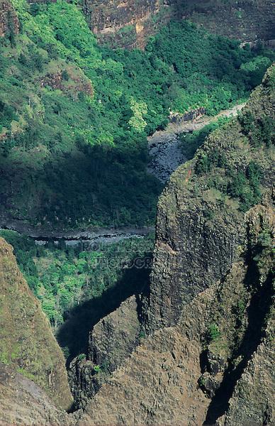 Waimea Canyon, Kauai, Hawaii, USA, August 1996