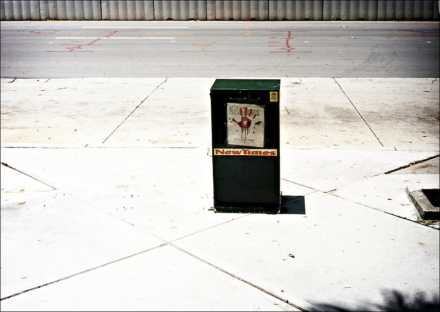 """The Hand<br /> From """"Color Blind"""" series. Miami, 2010"""