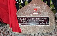 22.05.2013 - Einweihung Gedenkstein 150 Jahre Sozaildemokratische Partei Deutschlands SPD @ Leipzig
