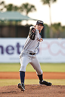 April 28 2010: Adam Wilk (14) of the Lakeland Flying Tigers during a game vs. the Daytona Beach Cubs at Jackie Robinson Ballpark in Daytona Beach, Florida. Daytona, the Florida State League High-A affiliate of the Chicago Cubs, lost the game against Lakeland, affiliate of the Detroit Tigers, by the score of 5-3  Photo By Scott Jontes/Four Seam Images