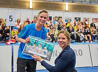 December 17, 2014, Rotterdam, Topsport Centrum, Ballkids selecion<br /> Photo: Tennisimages/Henk Koster