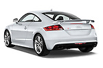 Rear three quarter view of a 2010 - 2014 Audi TT RS 3 Door Coupe 4WD.