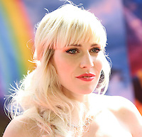 """BURBANK, CA, USA - MARCH 22: Singer Natasha Bedingfield arrives at the Los Angeles Premiere of DisneyToon Studios' """"The Pirate Fairy"""" held at Walt Disney Studios on March 22, 2014 in Burbank, California, United States. (Photo by Xavier Collin/Celebrity Monitor)"""