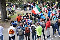 29th May 2021;  Giro D italia stage 20 Valle Spluga to Alpe Motta; Groupama - Fdj Duchesne, Antoine arrives in  Alpe Motta