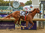November 2, 2018: Improbable #2, ridden by Drayden Van Dyke, wins the Street Sense Stakes on Breeders' Cup World Championship Friday at Churchill Downs on November 2, 2018 in Louisville, Kentucky. Candice Chavez/Eclipse Sportswire/CSM
