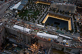 New  York, New York<br /> September 10, 2011<br /> <br /> Views of Ground Zero on the eve of the 10th anniversary of 9-11-2001.