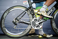 golden rainbow combo rocked by Peter Sagan (SVK/Tinkoff)<br /> <br /> stage 11: Carcassonne - Montpellier (162km)<br /> 103rd Tour de France 2016