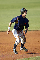 June 24, 2009:  Catcher Tony Sanchez of the State College Spikes runs the bases during a game at Eastwood Field in Niles, OH.  The State College Spikes are the NY-Penn League Short Season-A affiliate of the Pittsburgh Pirates.  Photo by:  Mike Janes/Four Seam Images