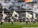 The Dallas Cowboys getting ready to come out onto the field before the pre- season game between the St. Louis Rams and the Dallas Cowboys at the Cowboys Stadium in Arlington, Texas. Dallas defeats St. Louis  20 to 19.