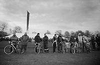 pitcrew awaits action<br /> <br /> Leuven Soudal Classic 2014