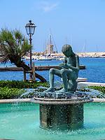 Brunnen, Marciana Marina  , Elba, Region Toskana, Provinz Livorno, Italien, Europa<br /> Fountain, , Marciana Marina, Elba, Region Tuscany, Province Livorno, Italy, Europe