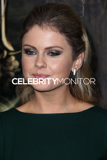 "HOLLYWOOD, CA - DECEMBER 02: Rose McIver arriving at the Los Angeles Premiere Of Warner Bros' ""The Hobbit: The Desolation Of Smaug"" held at Dolby Theatre on December 2, 2013 in Hollywood, California. (Photo by Xavier Collin/Celebrity Monitor)"