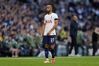 3rd October 2021; Tottenham Hotspur Stadium. Tottenham, London, England; Premier League football, Tottenham versus Aston Villa: Lucas Moura of Tottenham Hotspur
