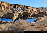 Rinconada BC50, Tseh So Chacoan Small House, Anasazi Hisatsinom Ancestral Pueblo Site, Chaco Culture National Historical Park, Chaco Canyon, Nageezi, New Mexico