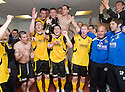 :: CHAMPIONS LIVINGSTON CELEBRATE WINNING THE SECOND DIVISION ::
