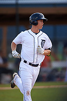 Detroit Tigers AJ Simcox (72) during a minor league Spring Training game against the Houston Astros on March 30, 2016 at Tigertown in Lakeland, Florida.  (Mike Janes/Four Seam Images)
