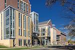 Rutgers University The Yard and Rutgers Academic Building (R.A.B.)