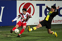 Nelson Valdez (Borussia Dortmund) versucht vergeblich die Flanke von Christian Demirtas (FSV Mainz 05) zu verhindern