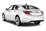 Car pictures of rear three quarter view of 2016 Opel Insignia Cosmo 5 Door hatchback Angular Rear