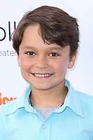 """BURBANK, CA, USA - APRIL 26: Pierce Gagnon at the Lollipop Theater Network's Night Under The Stars Screening Of Twentieth Century Fox's """"Rio 2"""" Hosted by Anne Hathaway held at Nickelodeon Animation Studios on April 26, 2014 in Burbank, California, United States. (Photo by Xavier Collin/Celebrity Monitor)"""