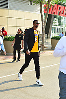 Chris Bosh and Adrienne Williams spotted at LA Live in Los Angeles