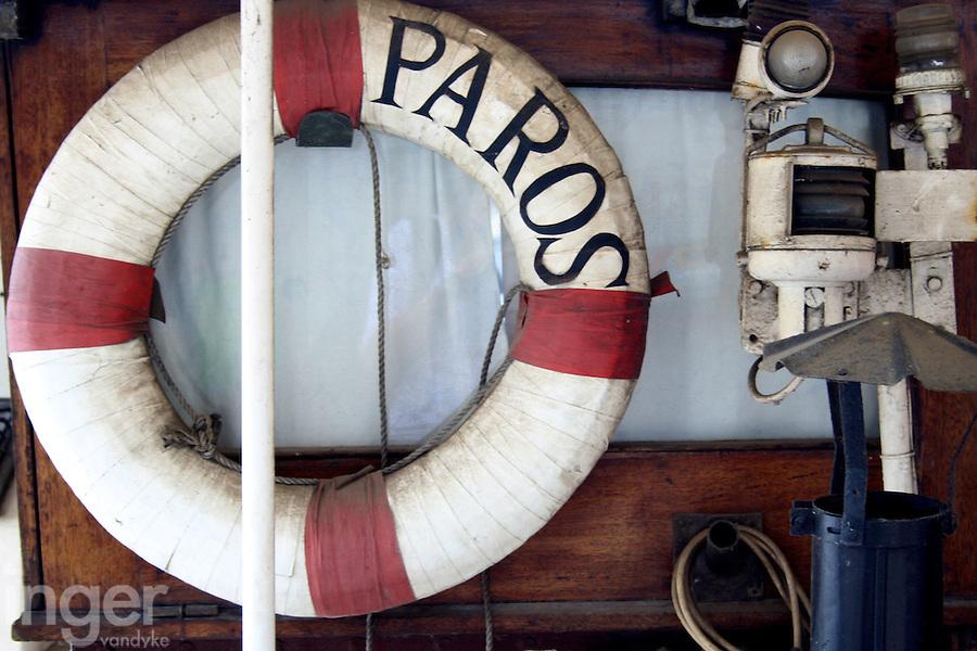 Paros Life Ring at the Shipreck Museum, Warrnambool
