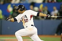 March 7, 2009:  Right fielder Shane Victorino (50) of Team USA during the first round of the World Baseball Classic at the Rogers Centre in Toronto, Ontario, Canada.  Team USA defeated Canada 6-5 in both teams opening game of the tournament.  Photo by:  Mike Janes/Four Seam Images