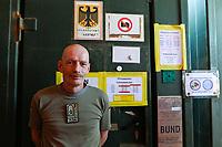 MALI, Gao, Minusma UN peace keeping mission, Camp Castor, german army Bundeswehr, field post office / Feldpostamt, Hauptfeldwebel Dirk Bartosch