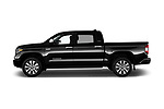 Car Driver side profile view of a 2020 Toyota Tundra Limited-5.7L-Crew-Max-Short-Bed 4 Door Pick-up Side View