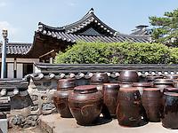 Namsangol Hanok Village in Seoul, Südkorea, Asien<br /> Namsangol Hanok Village in Seoul, South Korea, Asia