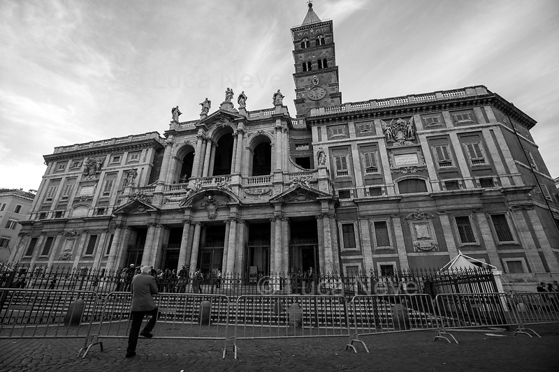 Unknown, Pensioner (The barriers of Santa Maria Maggiore, Roma).<br /> <br /> Rome, 01/05/2019. This year I will not go to a MayDay Parade, I will not photograph Red flags, trade unionists, activists, thousands of members of the public marching, celebrating, chanting, fighting, marking the International Worker's Day. This year, I decided to show some of the Workers I had the chance to meet and document while at Work. This Story is dedicated to all the people who work, to all the People who are struggling to find a job, to the underpaid, to the exploited, and to the people who work in slave conditions, another way is really possible, and it is not the usual meaningless slogan: MAKE MAYDAY EVERYDAY!<br /> <br /> Happy International Workers Day, long live MayDay!