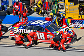 Monster Energy NASCAR Cup Series<br /> GEICO 500<br /> Talladega Superspeedway, Talladega, AL USA<br /> Sunday 7 May 2017<br /> Kyle Busch, Joe Gibbs Racing, Skittles Red, White, & Blue Toyota Camry<br /> World Copyright: Nigel Kinrade<br /> LAT Images<br /> ref: Digital Image 17TAL1nk05852