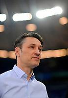 18.04.2018, Football DFB Pokal 2017/2018, semi final , FC Schalke 04 - Eintracht Frankfurt, in Veltins Arena auf Schalke. Trainer Niko Kovac (Eintracht Frankfurt) . *** Local Caption *** © pixathlon<br /> <br /> Contact: +49-40-22 63 02 60 , info@pixathlon.de