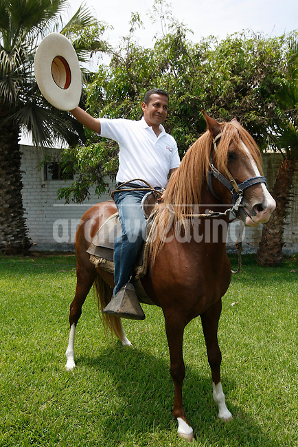 Ollanta Humala presidential candidate in Trujillo, Peru, Tuesday, March 22, 2011.